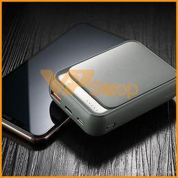 $enCountryForm.capitalKeyWord Australia - 18W Type C P65 Power Bank 10000mAh QC 3.0 Mini External Battery LED Display USB Quick Fast Charging Powerbank For iPhone XS