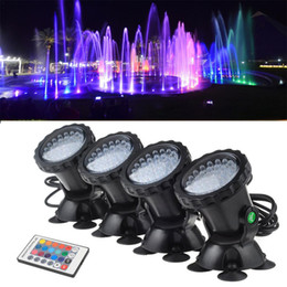 Underwater spot online shopping - 4pcs set LED Lighting Spot Lamp RGB Underwater Spot Light LEDs IP68 Waterproof Aquarium Fish Tank Lighting Aquarium Light