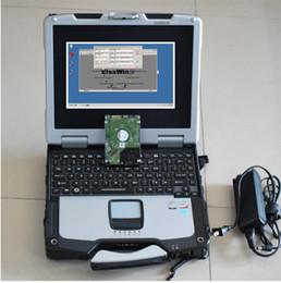 Spanish Laptop Australia - ELSA6.0 For VW + ELSA5.3 For Audi + E-TKA8.0+ VAS5054A ODIS 4.4.10 and Engineer Software v8.1.3 Installed well in cf30 laptop