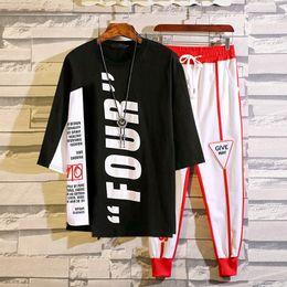 Tshirt Suit NZ - Summer Short Sleeve Tshirt Mens Leisure Suit