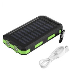 Top 30000mah Solar Power Bank bateria externa carga rápida Dual USB powerbank telefone portátil carregador móvel para iPhone8 X