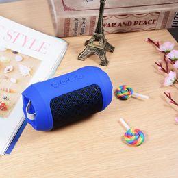Iphone Stereo Player UK - Portable Fabrics HiFi Bluetooth Speaker Mini Stereo Wireless Music Speakers Bass MP3 Player FM Radio TF For iPhone Anroid BH339