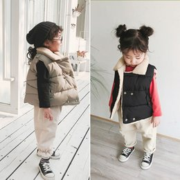 $enCountryForm.capitalKeyWord Australia - 2019 Winter New Arrival korean style cotton thickened and warm casual all-match vest for cute fashion baby girls and boys