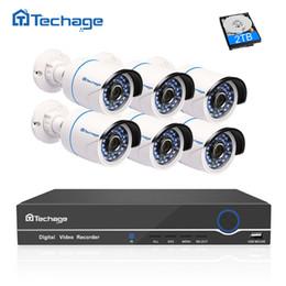 $enCountryForm.capitalKeyWord Australia - set Techage 1080 HD CCTV System 8CH POE NVR 2MP Indoor Outdoor 6PCS Security IP Camera P2P Video Surveillance System Kit