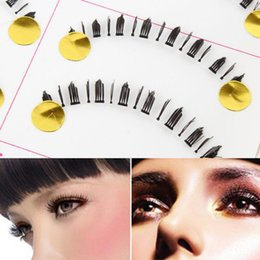 False Eyelashes Bottom Lash Australia - Black Natural Lower 10 False Lashes Eyelashes Pairs Natural Makeup Bottom