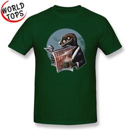 Brand Luxury Style Watch Australia - Mens luxury brand designer t shirts New Style Mens Print T Shirts Dinosaur Crisis Mens Casual Round Collar Fashion Street jackets watch