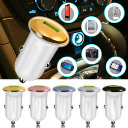$enCountryForm.capitalKeyWord Australia - QC3.0 Universal Car Phone Fast Charger USB Port Quick Car Charger Mushroom Shape Cell Mobile Battery Adapter 5V 3.1A Power For Smartphone