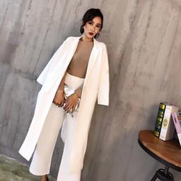 Wholesale women dresses suit resale online – Two piece set long sleeve professional temperament overalls female fashion temperament slim long suit suit elegant dress