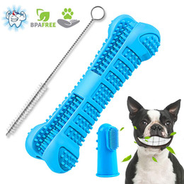 blue pet supplies NZ - Pet Dog Toothbrush Puppy Multi-angle Toothbrush Tooth Healthcare Cleaning Oral Dental Grooming Dog Health Supplies Free DHL