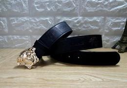 $enCountryForm.capitalKeyWord Australia - Hot selling new Mens womens black belt Genuine leather Business belts Pure color belt snake pattern buckle belt for gift 0383