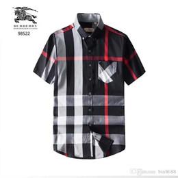 $enCountryForm.capitalKeyWord Australia - 2019 summer new men's fashion street fashion short-sleeved polo shirt skull hot drilling youth slim T-shirt B14