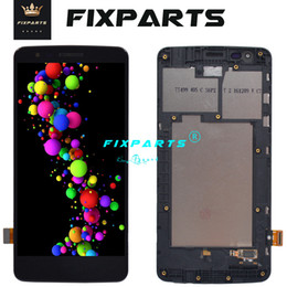 card lcd screen Canada - 100% Tested Working LCD Dual Card For LG K8 2017 LCD X240 LCD Display Screen Assembly Touch Sensor Digitizer For LG k8 2016