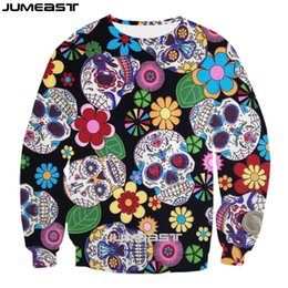 $enCountryForm.capitalKeyWord Australia - Jumeast Brand Men Women 3D Printed Sweatshirt Red Rose And Skull Long Sleeve Fashion T Shirt Sport Pullover Spring Tops Tees