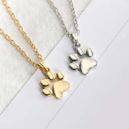 $enCountryForm.capitalKeyWord Australia - Fashion Foot Necklace Elephant Gold Silver Necklaces Vintage Necklace Pendant Charm Women Friend Gift