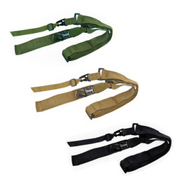 Wholesale FIRECLUB Mayitr Heavy Duty Gun Belt Strap Tactical Points Nylon Rifle Sling Outdoor Gun Accessories