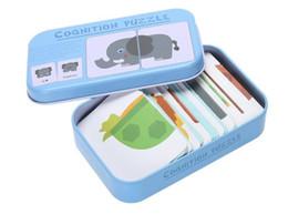 Baby Enlightenment Premiers jouets éducatifs Carte cognitive Fruits / Animaux / Trafic Cartes 3D Montessori Matériaux Jeux anglais Jeux d'enfants