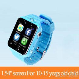 $enCountryForm.capitalKeyWord Australia - Children Security Anti Lost GPS Tracker V7K smart watch SIM  TF With camera Kids gift SOS Emergency For Iphone&Android PK Q90