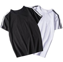 T Shirt Cotton Sport Fashion UK - Summer new designer T-shirt Explosive fashion cotton sports luxury T-shirt