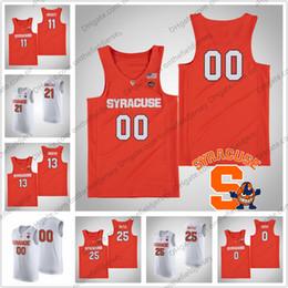 4c4e0aafc655 Custom Syracuse Orange College Basketball Jersey Any Name Number  11 Oshae  Brissett 21 Marek Dolezaj 25 Tyus Battle 35 Buddy Boeheim S-4XL