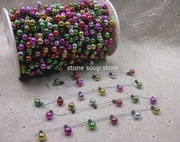 $enCountryForm.capitalKeyWord Australia - 2 50m Colorful Mini Plastic Light Bulb String NOT LIGHT Lamp Diy Christmas Tree Decoration Necklase Art Craft 5 Styles