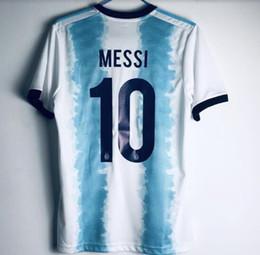 Argentina 2019 Copa America Home soccer jersey messi 19 20 DYBALA ICARDI  HIGUAIN DI MARIA football shirts PRE-MATCH SHIRT 7ce78c41c