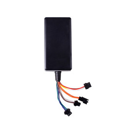 car tracker locator gps UK - Waterproof Car GPS Tracker Vehicle Locator Builtin GSM GPS Antenna Support Google Map Link Wide Input Voltage 9-36V