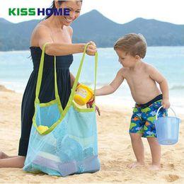 $enCountryForm.capitalKeyWord Australia - Children Sand Away Protable Mesh Bag Kids Beach Toys Clothes Towel Bag Baby Toy Storage Sundries Bags Women Cosmetic Makeup Bags
