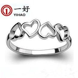 $enCountryForm.capitalKeyWord Australia - 925 silver jewelry Korea cute little finger ring peach ring