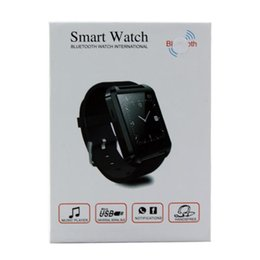 $enCountryForm.capitalKeyWord Australia - Newest Bluetooth Smart Watch U8 wrist watch sport for iPhone 4 4S 5 5S Samsung S4 Note 2 Note 3 HTC Android Phone DHL