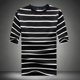 Hot Design Tees Australia - 2019 New T Shirt Men Summer Spring Hot Sale Line Design Funny T-shirt Homme Quality Loose Hip Hop Short Sleeve Mens Tee Shirt