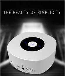 Mp Player Speaker Australia - LEADSTAR MP-03 Bluetooth Speaker Wireless Stereo Touch button Mini Portable Audio Support Handsfree TF Card Super Bass Speaker