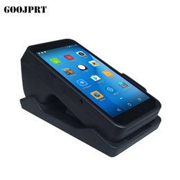 wireless wifi bluetooth Australia - Terminal PDA With Wireless Bluetooth& Wifi Android System with Thermal Printer Built-in and Barcode Scanner
