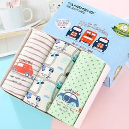 Suit Cars Australia - New boys Boxer 1 box 3 article Children's Underwear Cartoon Car Baby Boxer Shorts Modal Cotton Shorts Suit wholesale 2-13T
