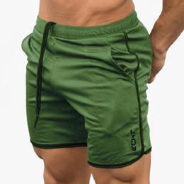$enCountryForm.capitalKeyWord NZ - Hot Sale Running Shorts Men Sports Jogging Workout Fitness Shorts Compression Gym Sport Training Shorts Gyms Short Pants Men SH190805