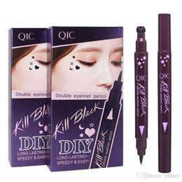 Matte Eyeliner Pens Australia - Make Up Eyeliner Seal Eyeliner Manufacturers Direct Sale Eyeliner Tail Seal Pen Waterproof And Non - Smudge
