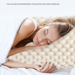 latex beds Australia - Natural Latex Pillow Neck Health Care Pillow Core Neck Sleep Bedding Household Products