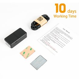 $enCountryForm.capitalKeyWord Australia - Real Time Car GPS Tracker 10 Days Working Time Long Standby LBS GPS Tracking Device Vehicle Magnet Cars Global Locator