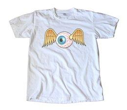 870481f4e Vintage Von Dutch Flying Eyeball Decal T-Shirt - Hot Rod, Racing, Speed,  Cult Men Women Unisex Fashion tshirt Free Shipping black