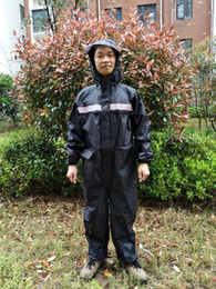 Suit Motorcycle Xxl Australia - 2018 new Adult high quality Waterproof motorcycle raincoat  Conjoined raincoat men   women fission rain suit rain coat #319366