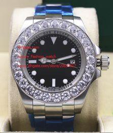 Wholesale pro hunter for sale – custom Factory Sale wristwatch mm Black dial NEW PRO HUNTER Large diamond Asia Automatic Mens Watch Luminous Watches