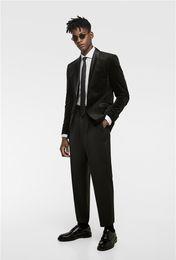 Suit Tie Girdle Australia - Popular Groomsmen Shawl Lapel One Button (Jacket+Girdle+Pants+Tie) Groom Tuxedos Groomsmen Best Man Suit Mens Wedding Suits Bridegroom b074