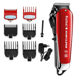 red cutter Australia - cordless magic hair clipper professional barber hair trimmer men electric beard cutter cutting machine hair cut adjustable