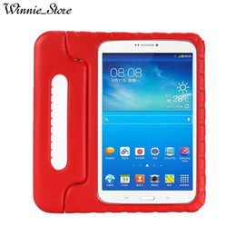 "eva foam cover NZ - EVA Foam Handheld Kids Safe Tablet Case For Samsung Galaxy Tab E T560 T561 9.6"" Shock Proof Non-toxic Cases Cover DHL free"