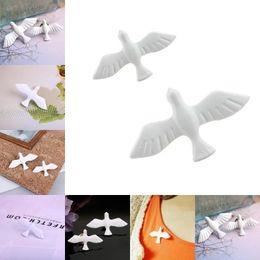 Pigeon Gifts Australia - 1 pcs Women Cute White Peace Pigeon Brooches Classic Bird Collar Brooch