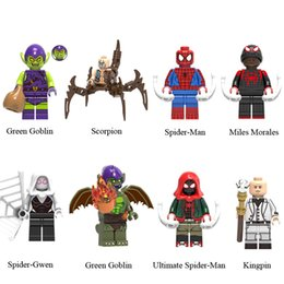 Ultimate Building Block Canada - Avengers 4 Endgame Ultimate Spider-Man Green Goblin Spider-Man Kingpin Spider-Gwen Mini Toy Figure Building Block Assebmle Block