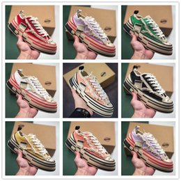 Spring Fall Canvas Shoes Australia - 2019 men's and women's low-top casual matching color canvas shoes men's trend versatile sports board shoes cork beggar shoes sneakers n25