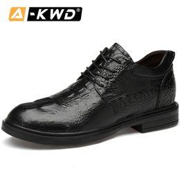$enCountryForm.capitalKeyWord Australia - Fashion Business Leather Footwear Men Mocasin Hombre Autumn Mens Shoes Casual Height Increase Elevator Shoes for Men Black