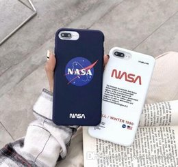 $enCountryForm.capitalKeyWord Australia - New Space Agency NASA Luxury Designer Shockproof Soft Silicone Phone Case Cover For iphone X 6 6S 7 8 Plus iPhone XS Max XR