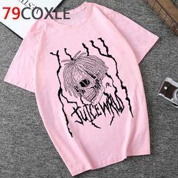 Wholesale graphic shirt online – design Rip Rapper Juice Wrld Graphic Tshirt Men Summer Cool Streetwear T shirt Unisex Aesthetic Casual Tshirt New Hip Hop Top Tees Male