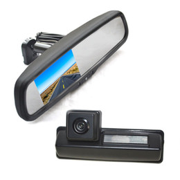 toyota backup cameras Australia - Reverse Backup Camera + Replacement Rear View Mirror Monitor For Car Toyota Camry